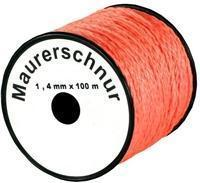 Schnur 1,4 mm orange 100 m